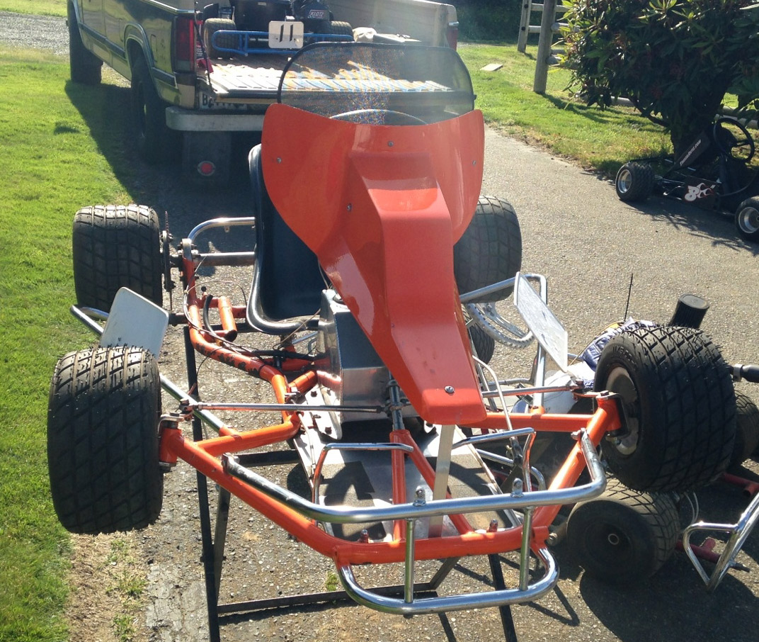 Dual Engine Chassis Besides Aero